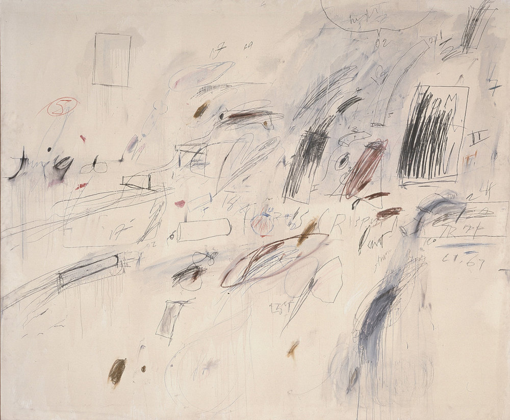 "Cy Twombly, ""Untitled,"" 1969"