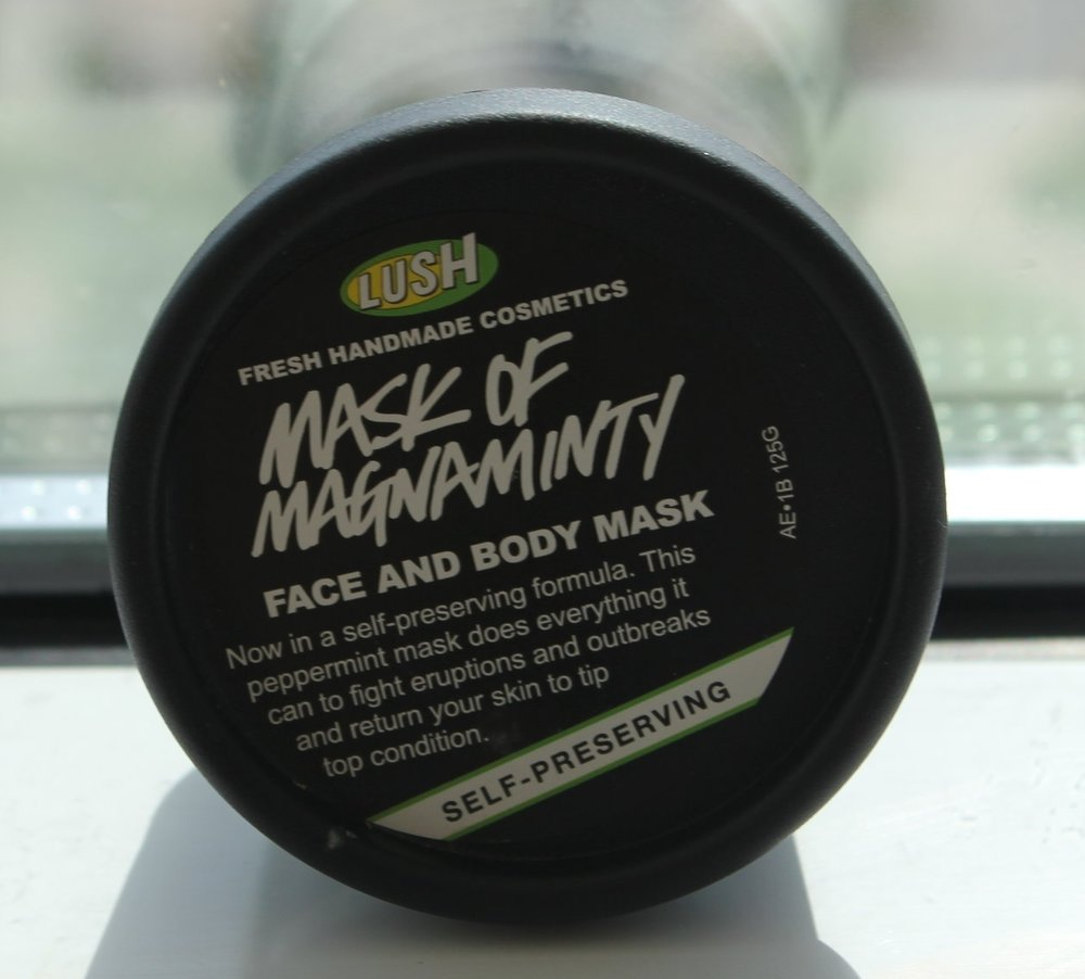 Lush - Mask of Magnaminty Face and Body Mask, $14.95