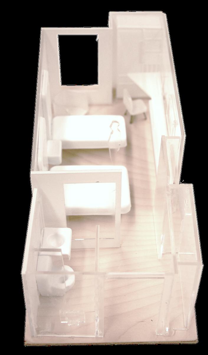 Brennan-Chiu_Industrial-Design_Princess-Margaret-Cancer-Centre_Bedroom-Model.png