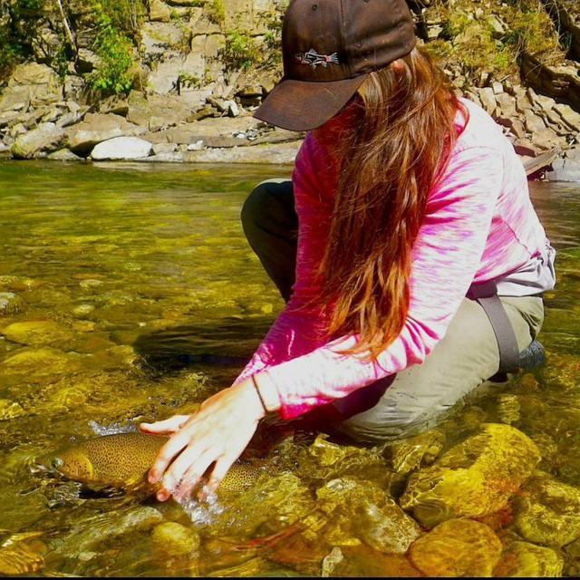 Beckie Fly Fish Fernie