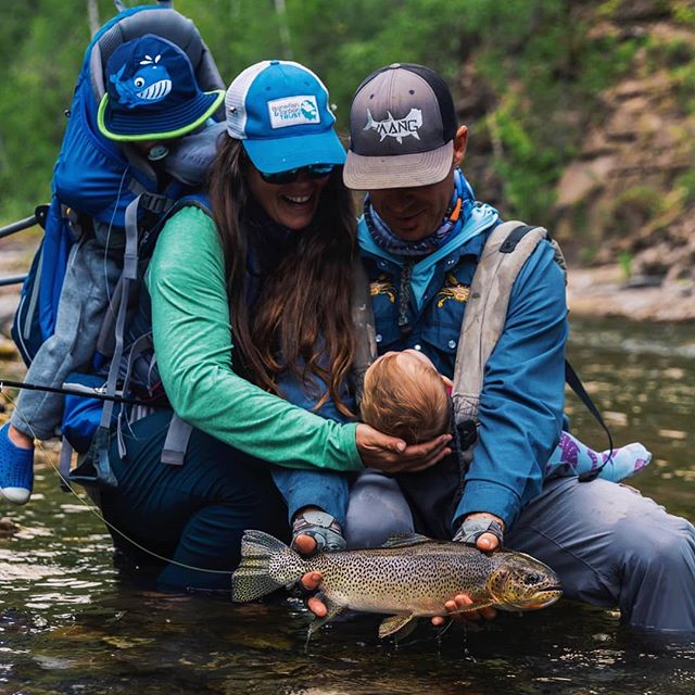The wilderness provides an environment for a child's inner life to develop because it requires them to be constantly aware of their surroundings. Thanks for the family shot @d_leake