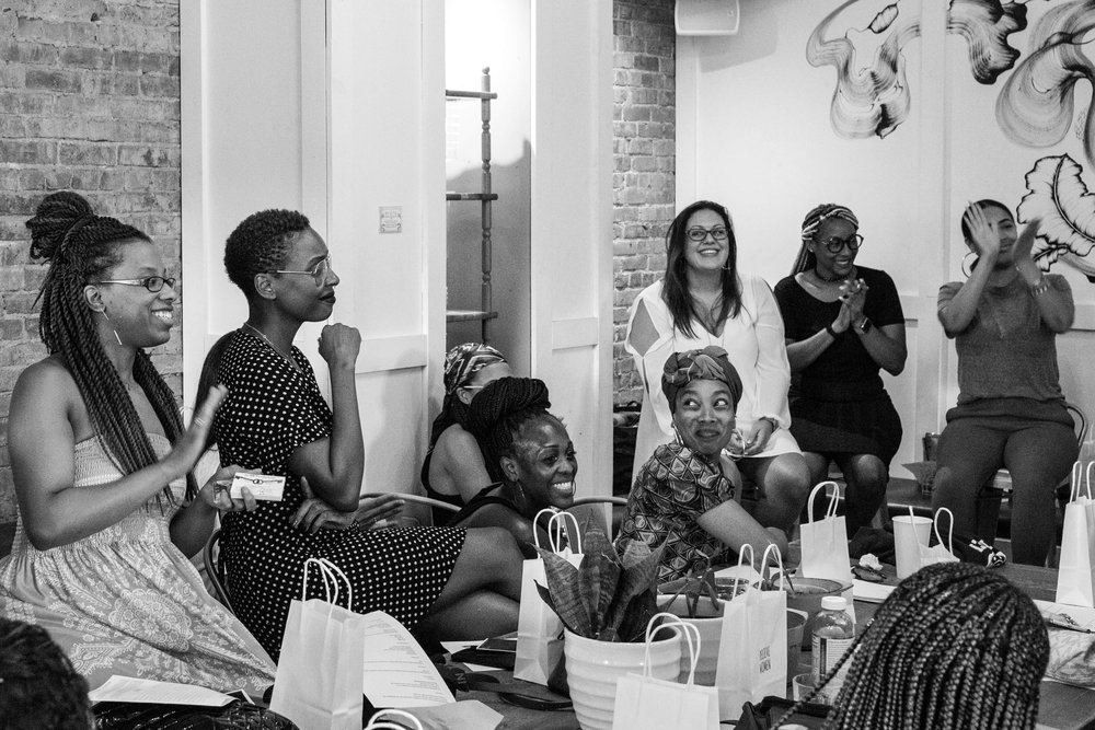 Women of color ENTREPRENEUR evening at little skips east
