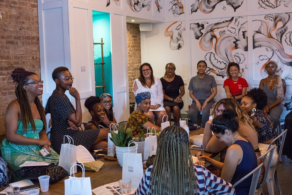 Why Spaces for POC Matter - Photo Via: AHUS Women of Color Panel, July 2018