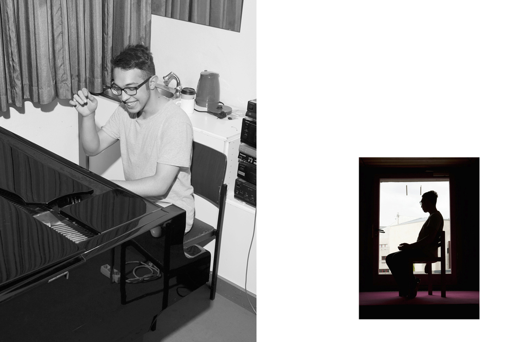 Virtuoso  Kevin Mantu   for  Zeit Magazin
