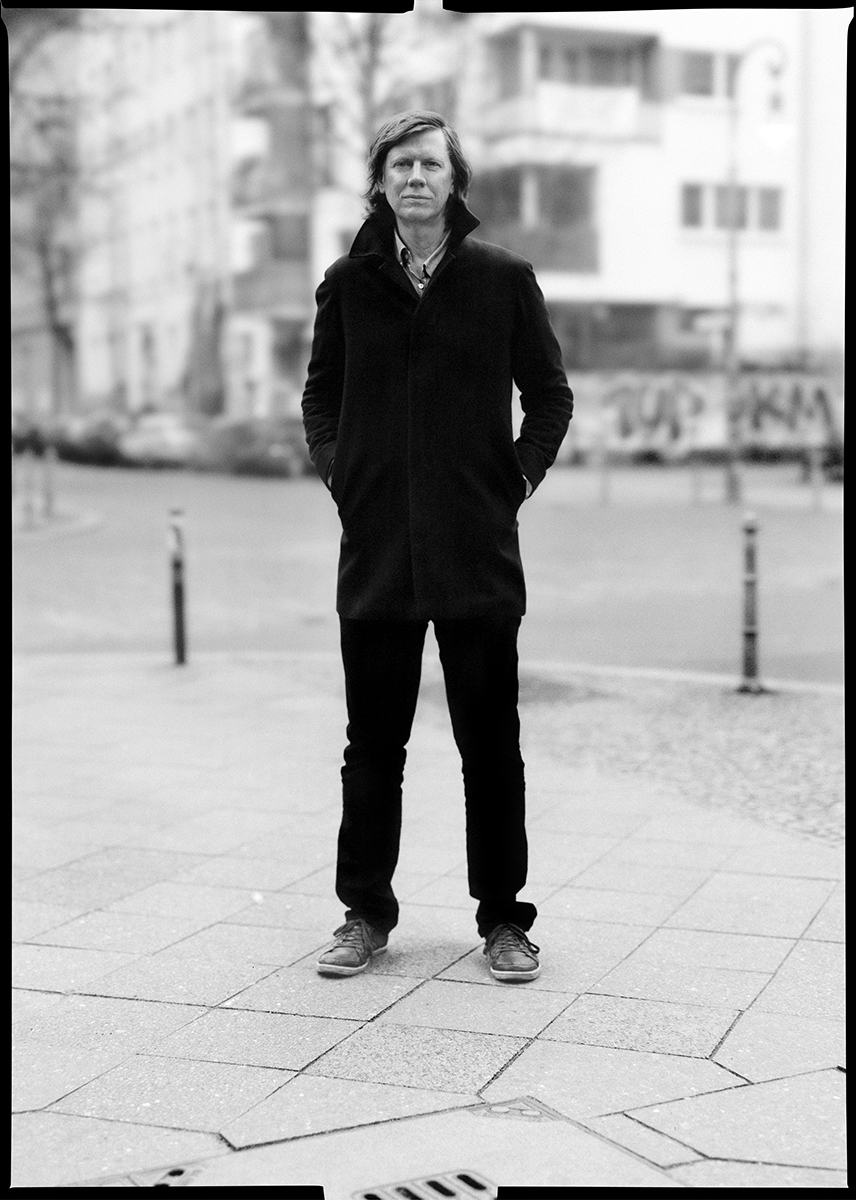Thurston Moore from Sonic Youth   for  INDIE Magazine