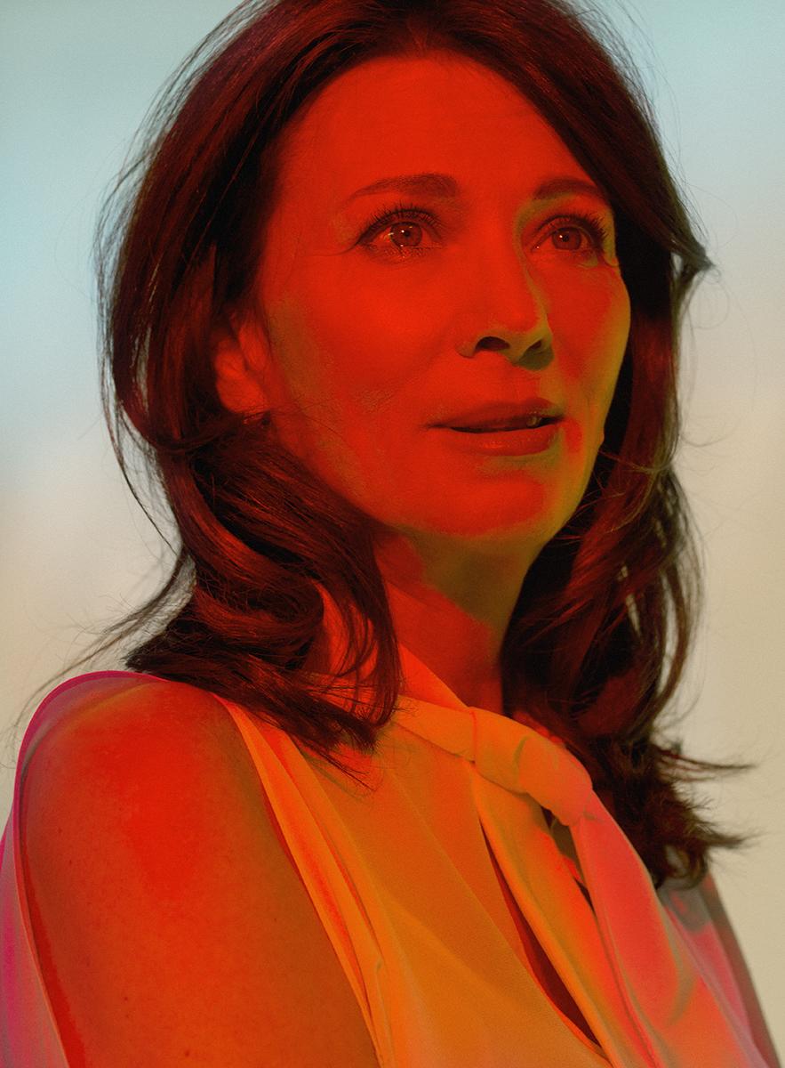 Actress    Iris Berben   for  Zeit Magazin Mann