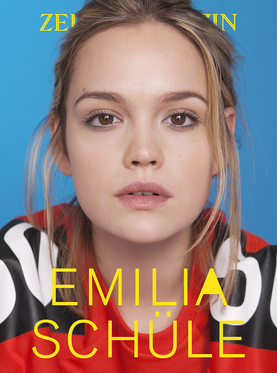 Emilia Schüle   actress  for  Zeit Magazin
