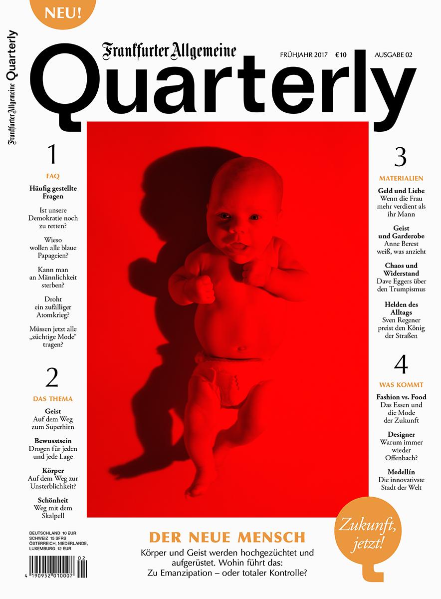Der Neue Mensch   for  Frankfurter Allgemeine Quarterly