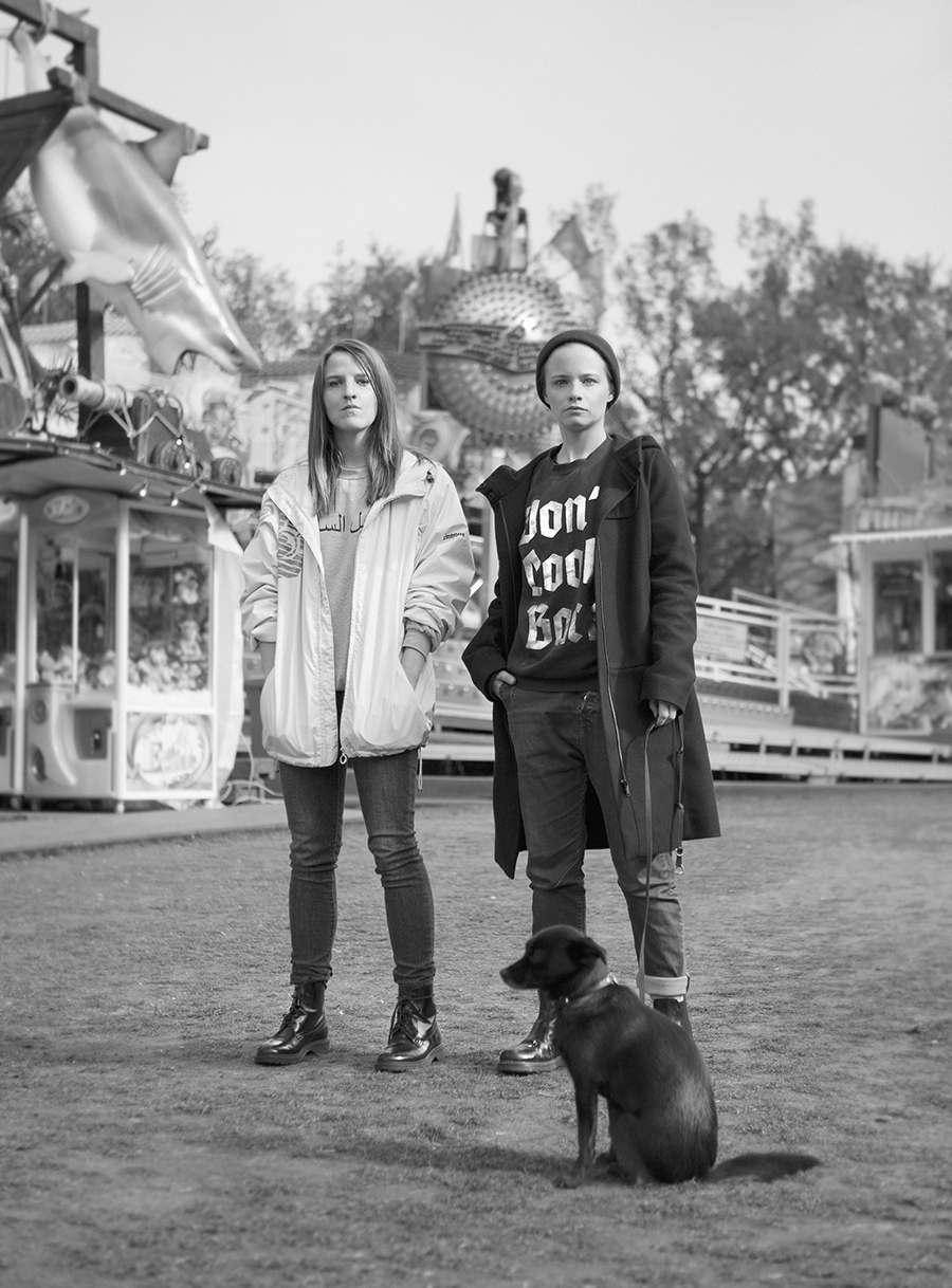 Helene Hegemann   & Jasna Fritzi Bauer   for  Neon