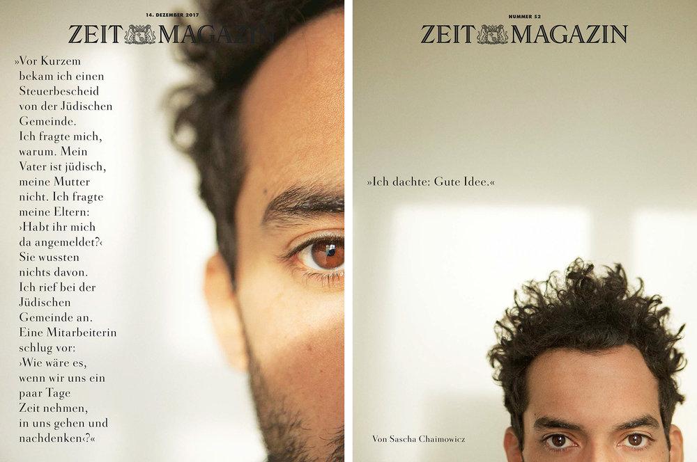 Sascha Chaimowicz   for  Zeit Magazin