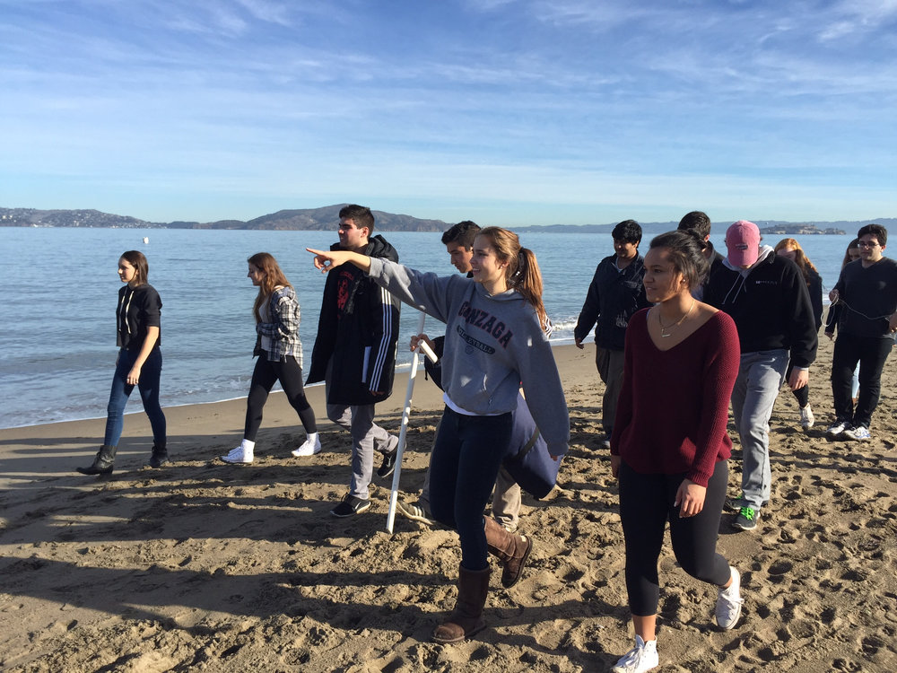 IMG_0009- students pointing on beach.jpg