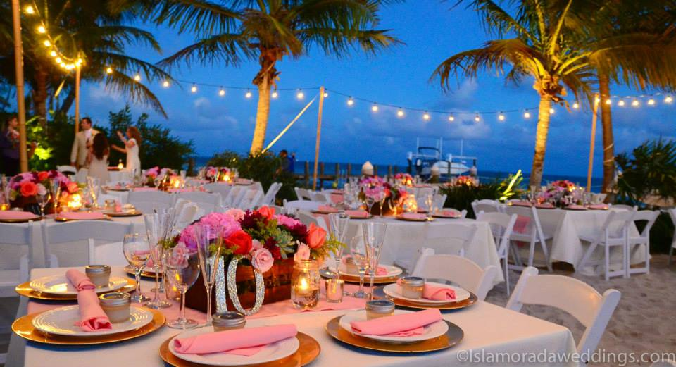lighting spot lighting islamorada weddings