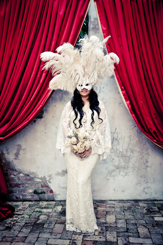 masquerade themed wedding