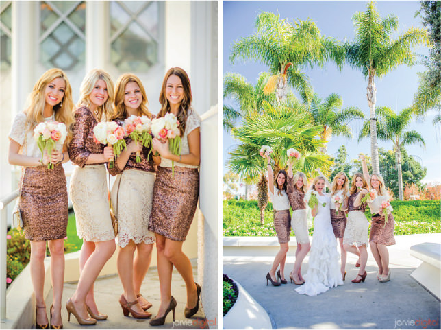 Mix and Match Bridesmaids