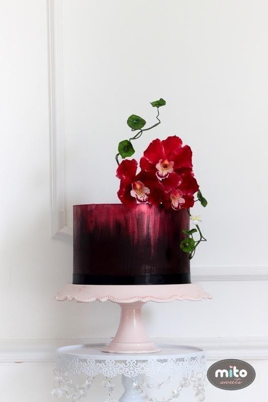 Florida Keys Wedding Cake