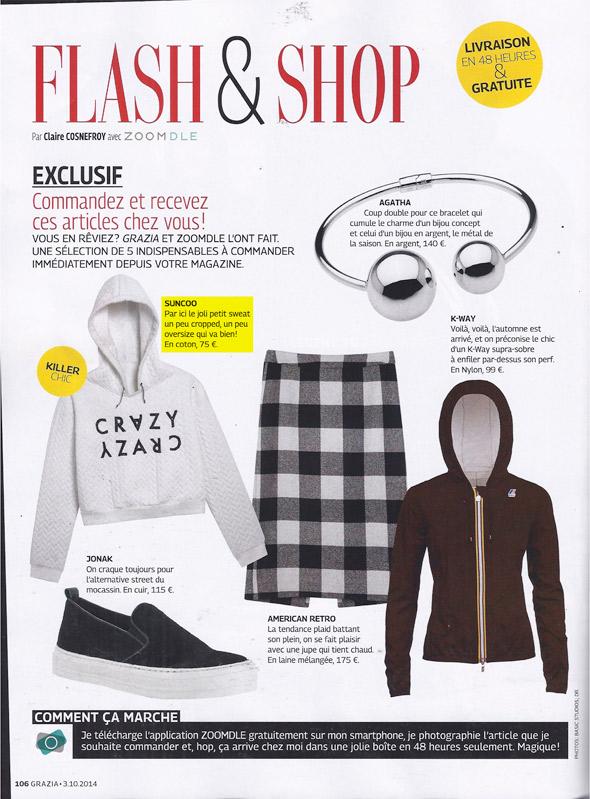 Grazia Magazine
