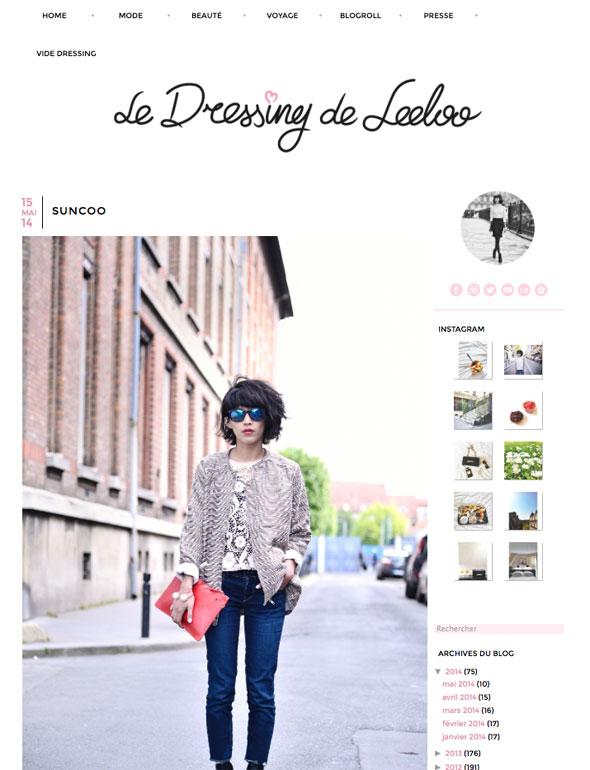 Le Dressing de Leeloo Blog