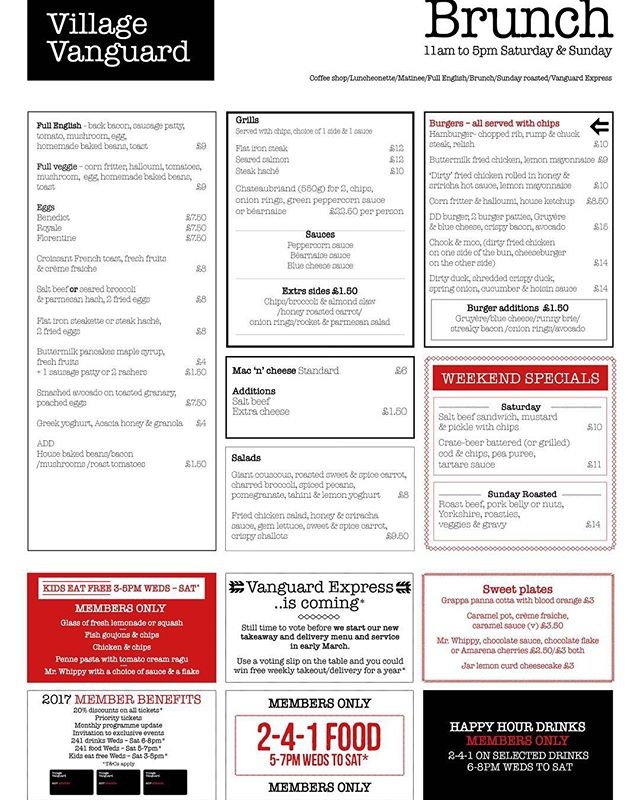 Breaking news... we have a new BRUNCH menu. Come try our new additions today.