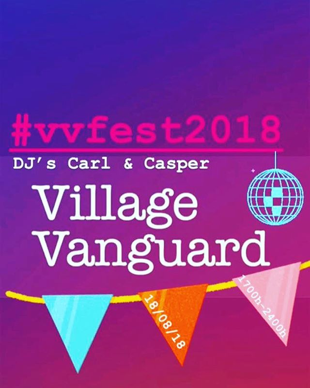 Come and join us! Good food. Good drinks. Good music. What else? #vvfest #partytime #villagevanguarde20 #eastvillage