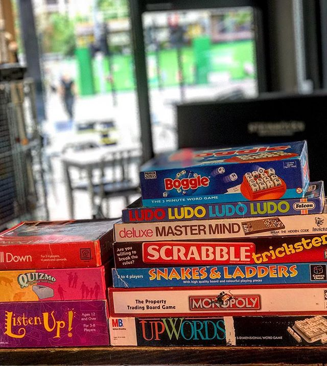 BORED? Join us for a night of boardgames. WEDNESDAY-SUNDAY. 🎲🎯🎧🎤‼️ • • • • • • • #bar #drinks #cocktails #drink #party #beer #food #cocktail #bartender #restaurant #music #cafe #love #instagood #alcohol #nightlife #friends #lounge #dance #s #photooftheday #wine #mixology #night #summer #thirsty #drinking #friday #club #stratford