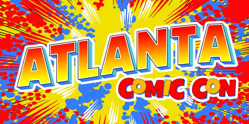 Welcome to the advance ticket page for the July 12-14, 2019, Atlanta Comic Con! Enjoy a weekend full of comic books, toys, cosplay, guest artists and celebrity appearances in beautiful Atlanta, Georgia, at the Georgia World Congress Center (Hall C1).