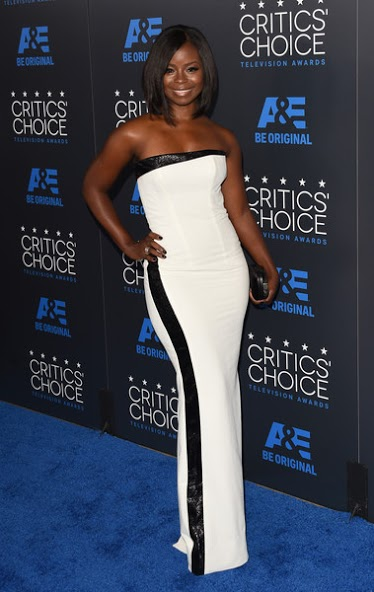 Erika Tazel_ Critics Choice Awards_ June 2015 .jpg