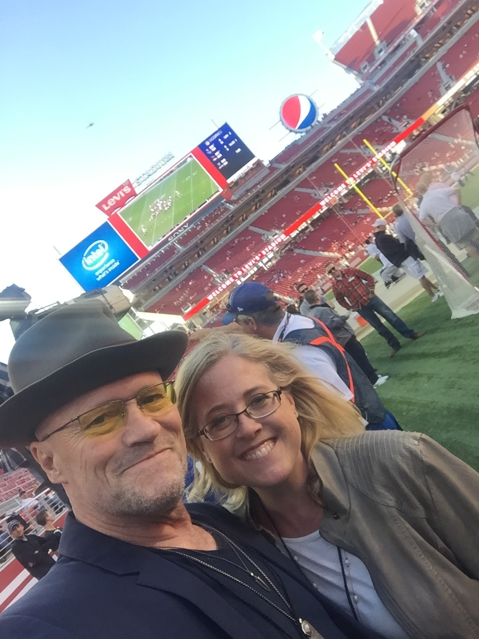 49er Game with actor, Michael Rooker