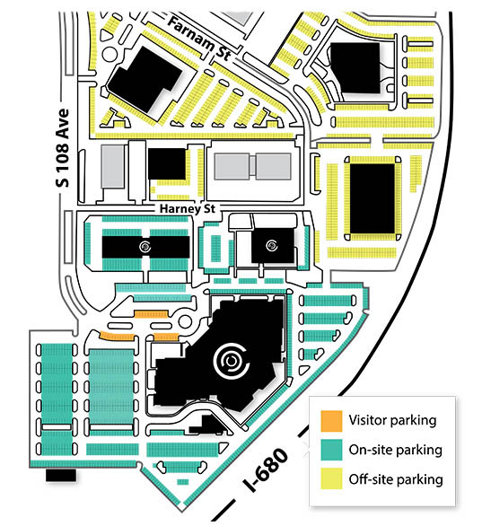 CCC Parking Map