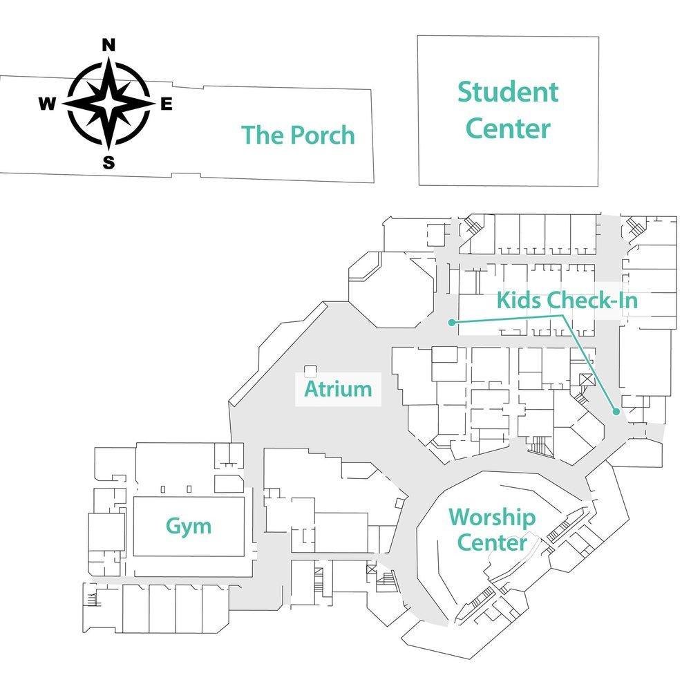 CCC Campus Map