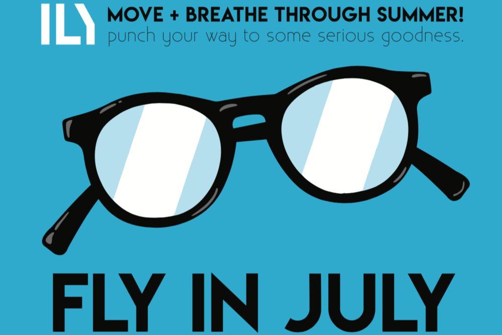 Fly in July Inner Light Yoga Summer Yoga Challenge