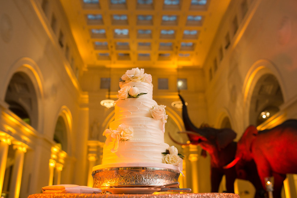 Wedding Cake by Flour Bakery
