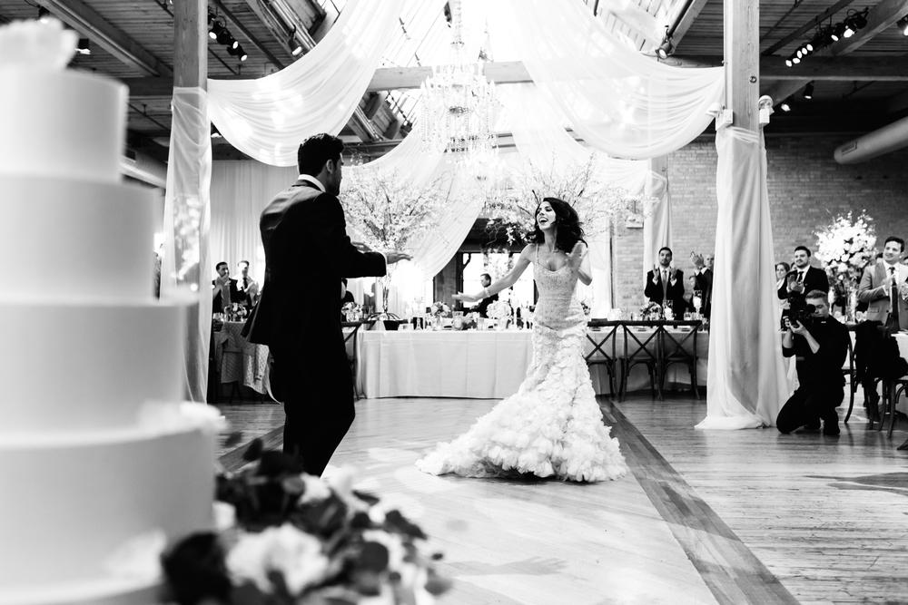 wedding reception at the bridgeport art center.jpg