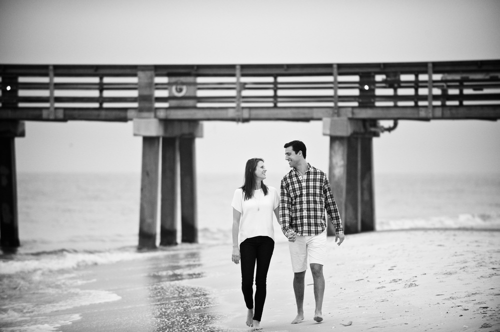 Engagement photos in Naples, FL
