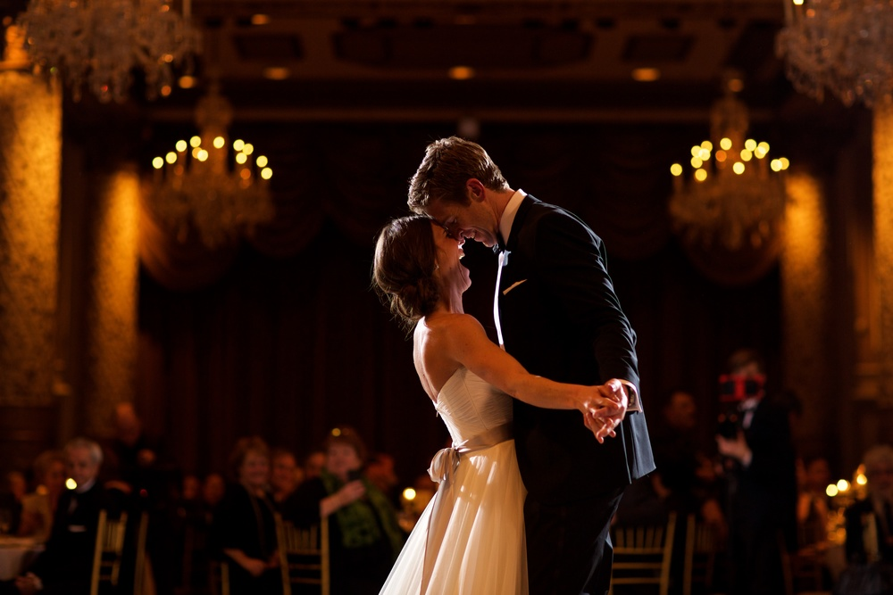 First dance at The Drake Hotel