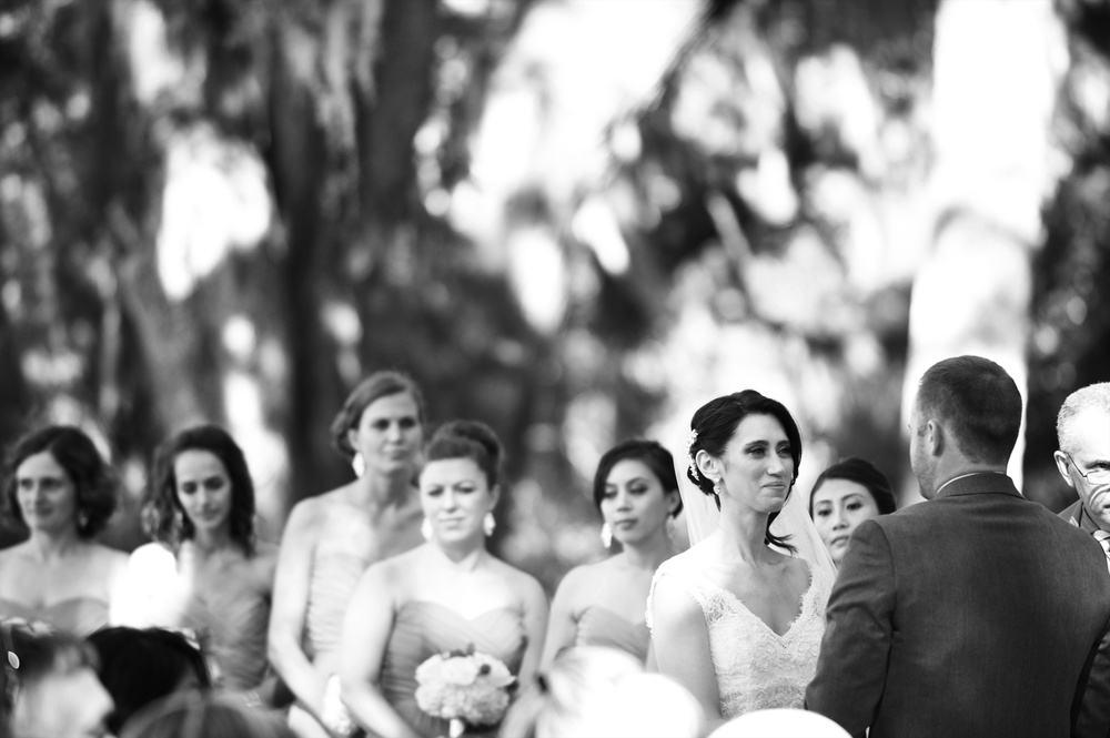 Wedding Ceremony at Honey Horn Plantation