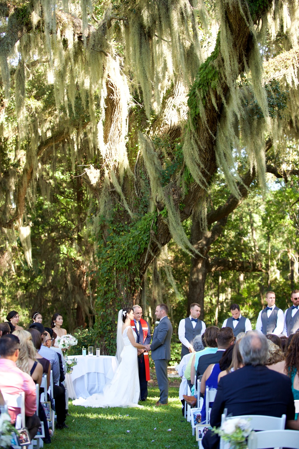 Wedding photography at honey horn plantation