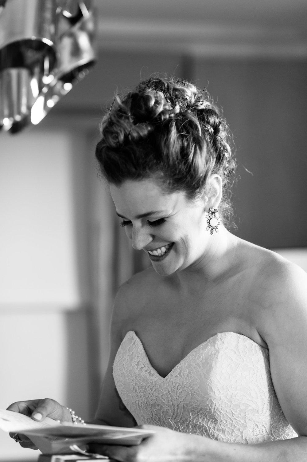 Bride at the Hilton Hotel Chicago