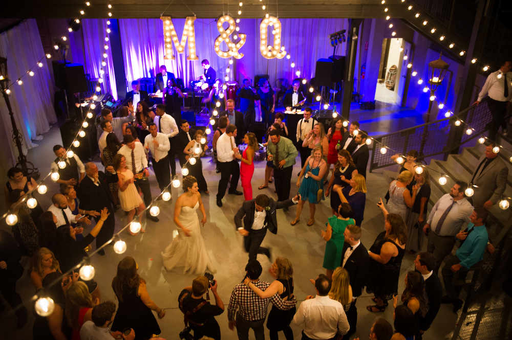 Wedding Reception at Architectural Artifacts