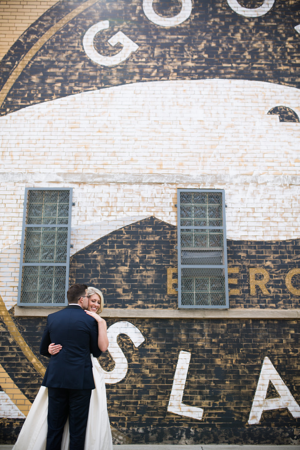 Wedding Portraits in Chicago at Goose Island
