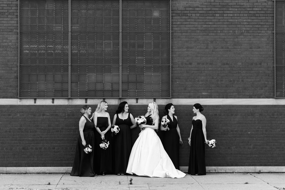 Chicago Summer Bridal Party