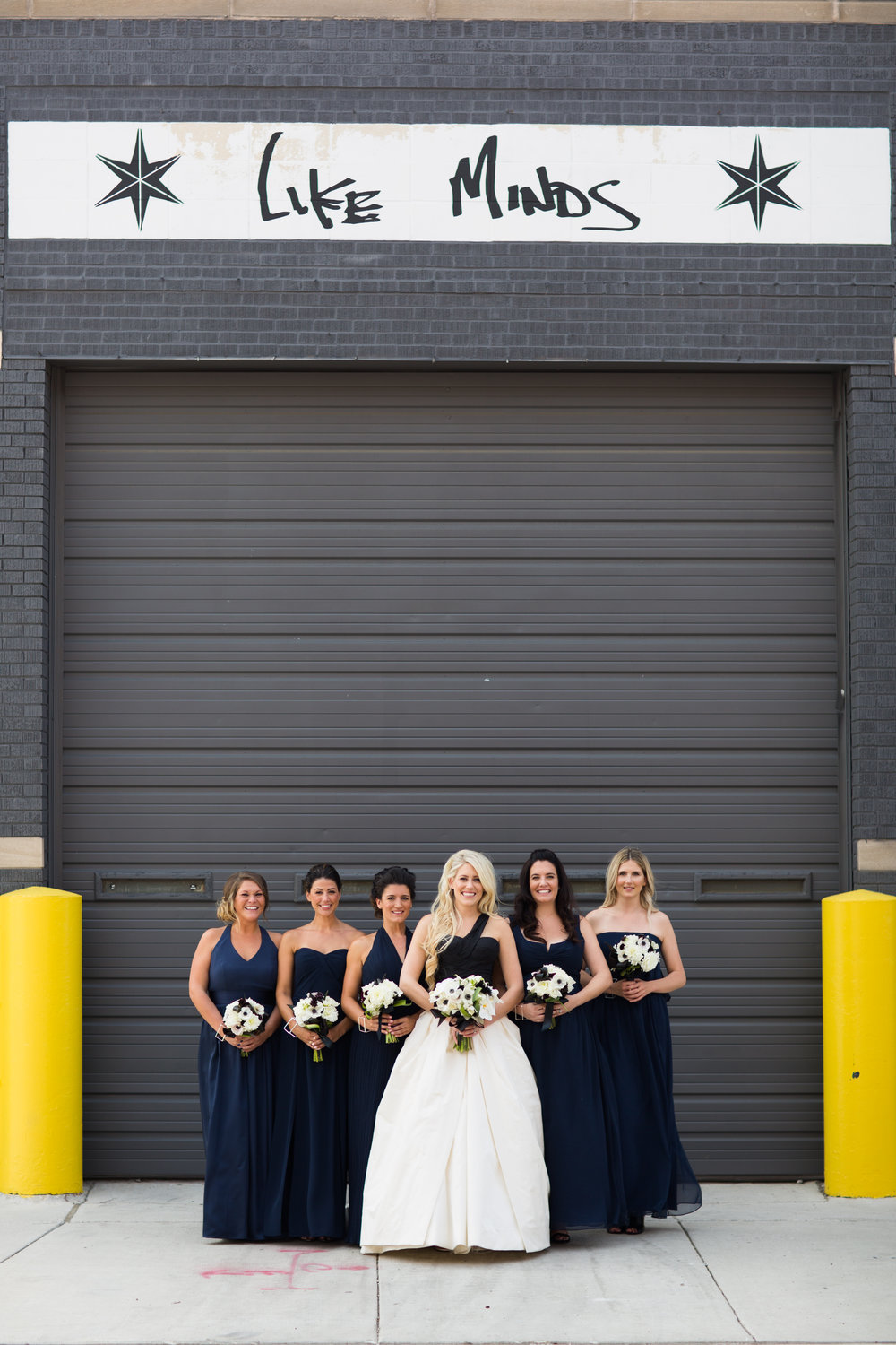 Bridesmaids photos in chicago