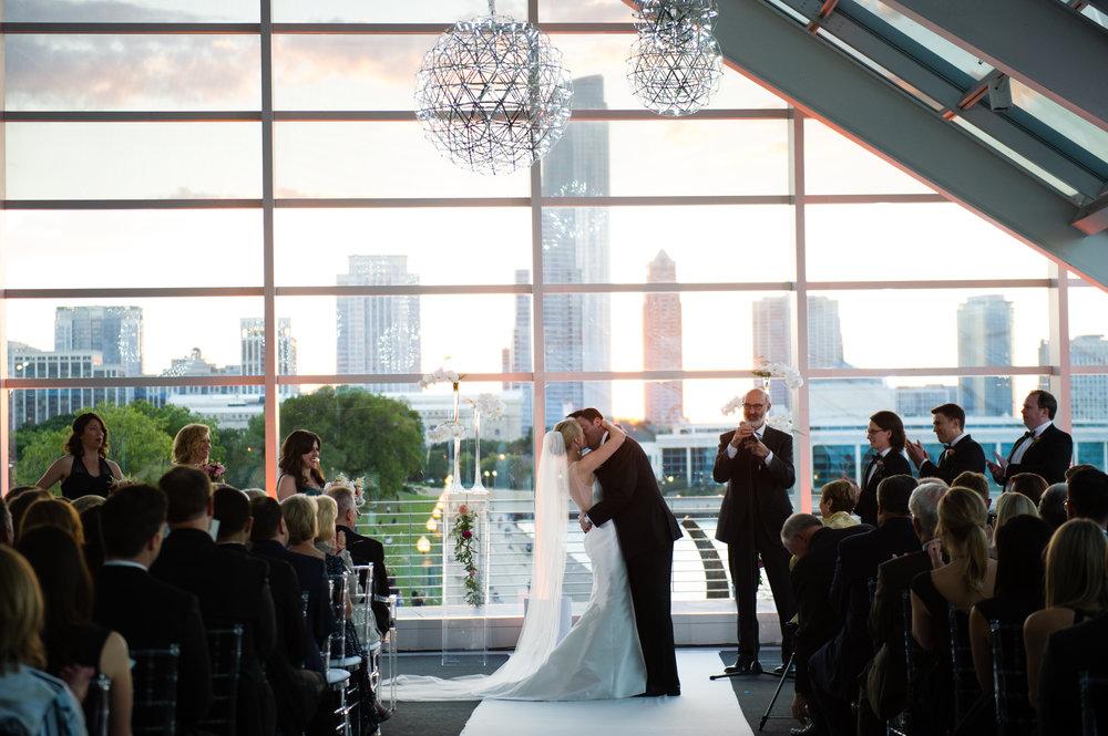 Chicago Wedding at the Adler Planetarium — Studio This Is