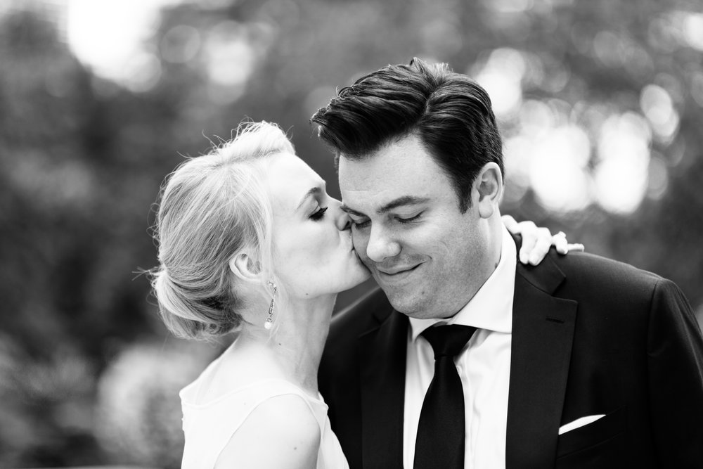 Black and white wedding photography chicago