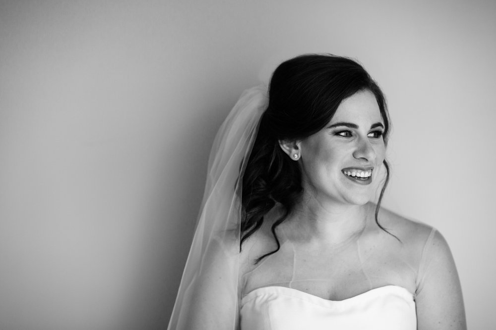 Bridal portrait at the westin chicago