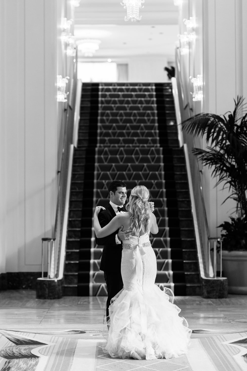 Wedding Portraits at the Peninsula Chicago
