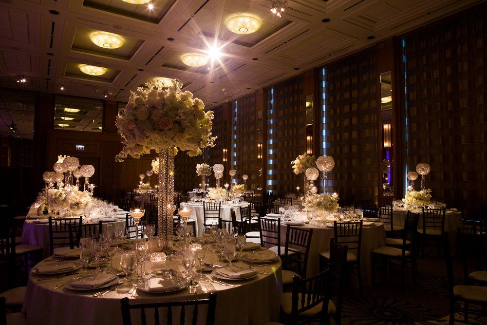 Wedding Reception at the Peninsula