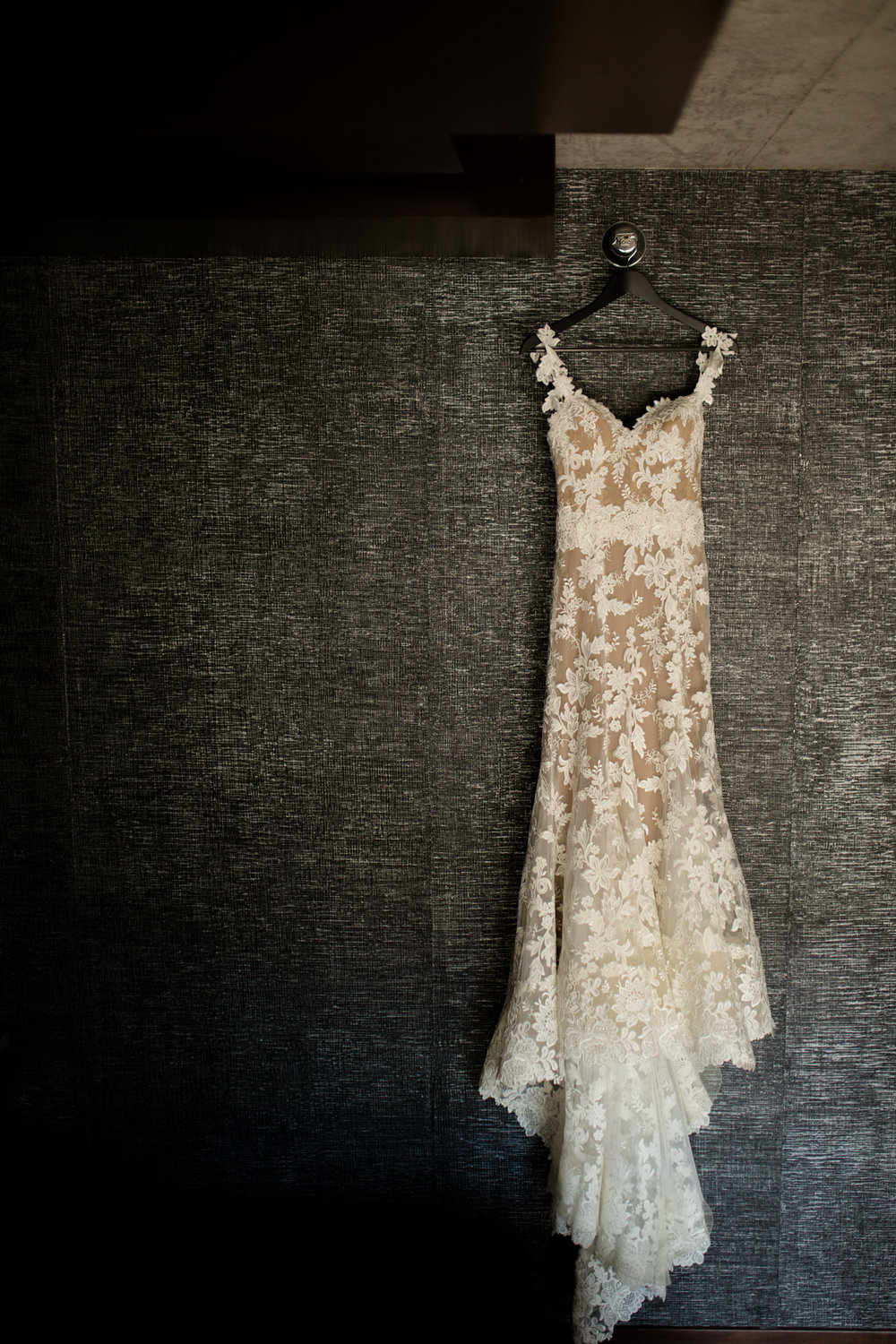 Bridal gown at Dana Hotel Chicago
