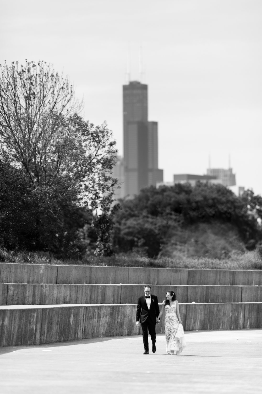 Bridgeport Art Center Skyline Loft Wedding