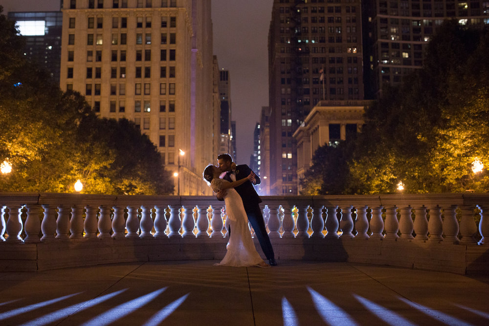 Romantic Chicago Cultural Center Wedding