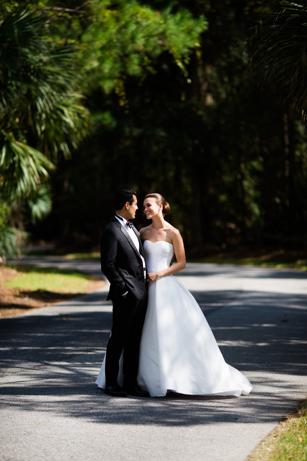 Romantic wedding photography in Charleston, SC